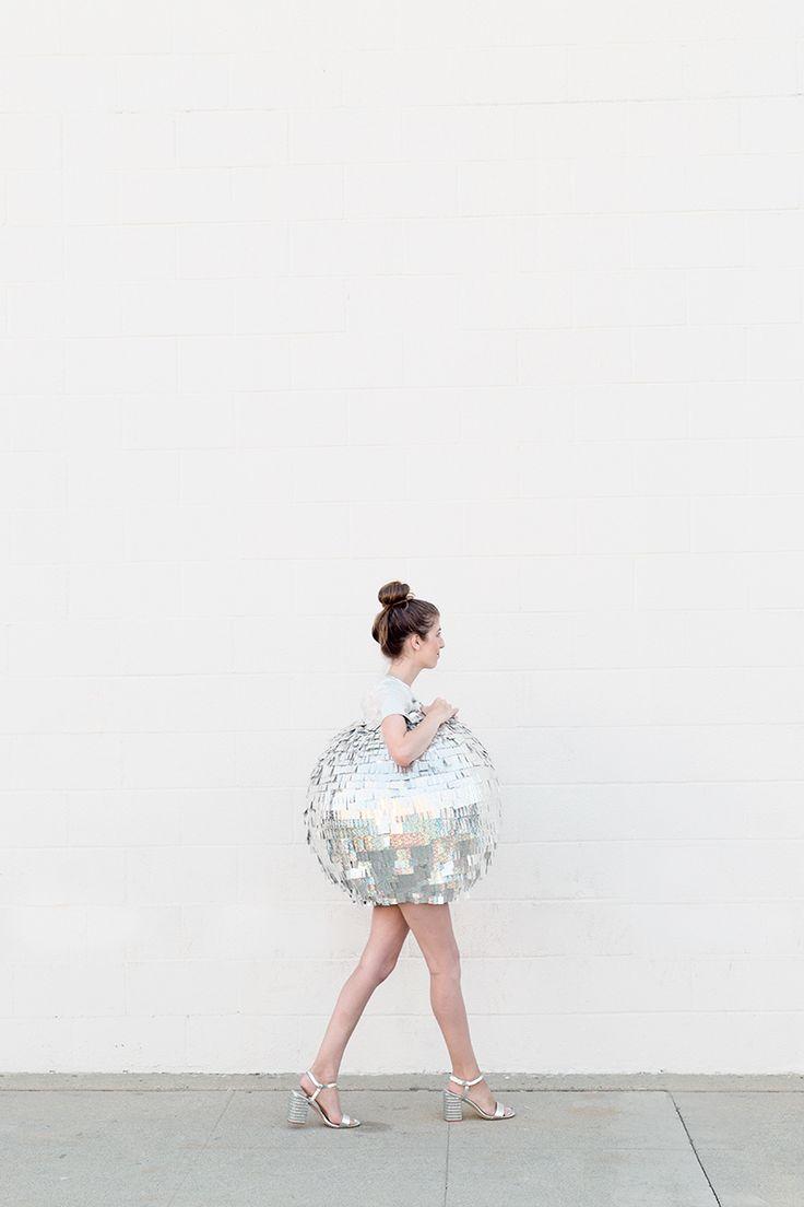 DIY Disco Ball Costume