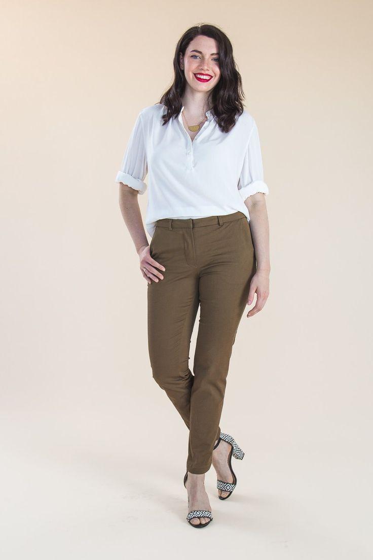 Sasha Trousers Pattern // Stretch Pants Pattern // by Closet Case Patterns