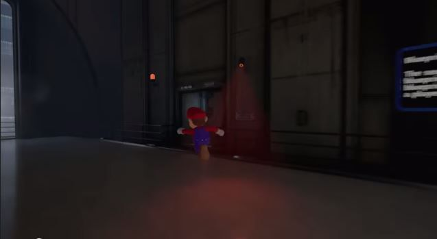 Unreal 4 engine makes Mario look more real than ever