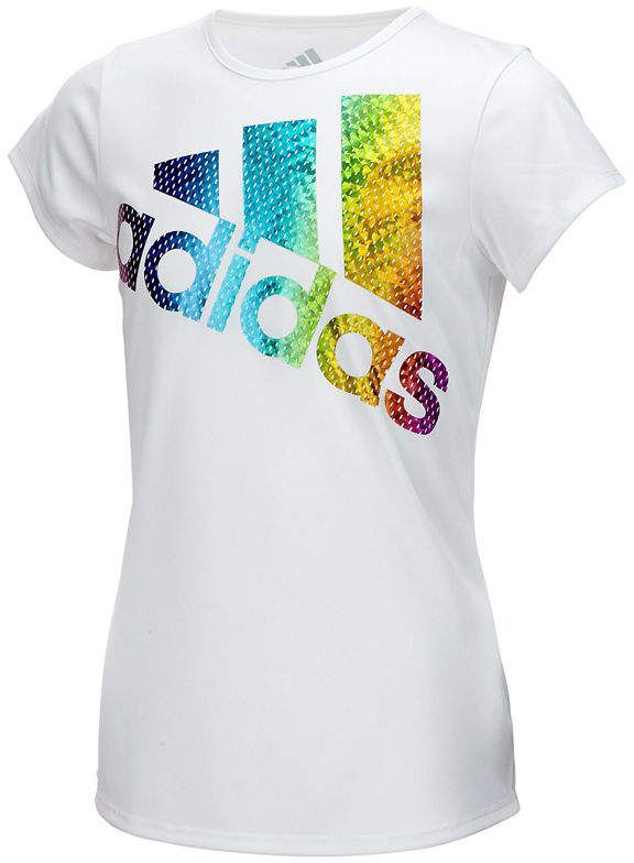 diente Expresamente Skalk  Graphic T-Shirt-Preschool Girls #Graphic#adidas#Shirt   Adidas girl, Baby  shirts, Activewear fashion
