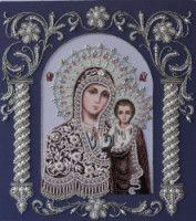 "Gallery.ru / 20 февраля 2014 - Богородица ""Казанская"" (закончен) - Skandy"