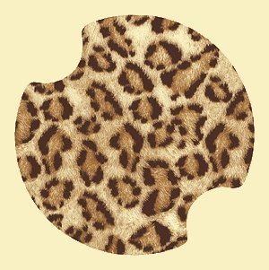 Leopard Print Carsters Coasters For Your