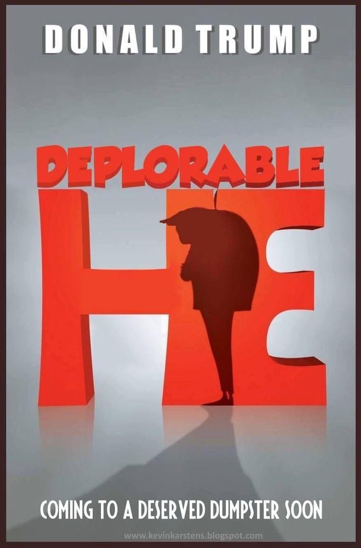 Deplorable Trump.