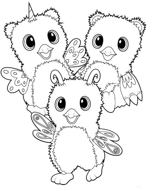 Hatchimals Coloring Page Pages Cute Rhpinterest: Hatchimal Christmas Coloring Pages At Baymontmadison.com
