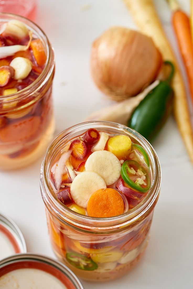 How To Make Spicy Mexican-Style Pickled Carrots — Cooking Lessons from The Kitchn #recipes #food #kitchen