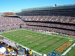 Soldier Field, Chicago, IL    This place makes me happier that any person should ever be.