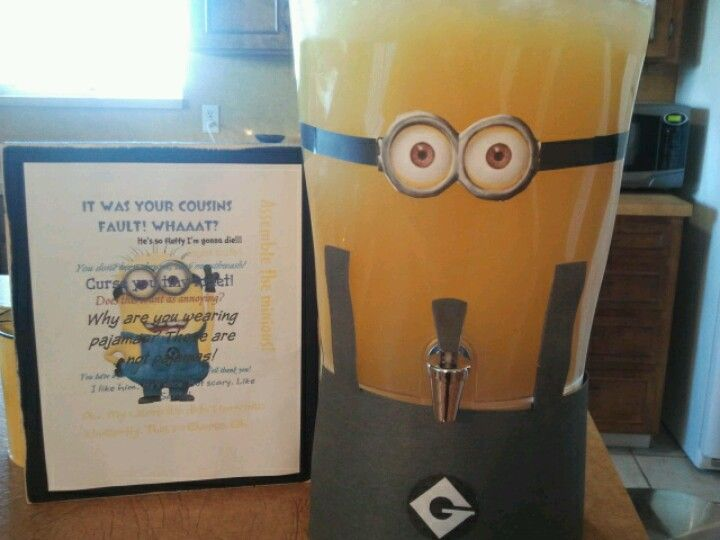 Minion Party!!! Ideas for Alessandro's bday party