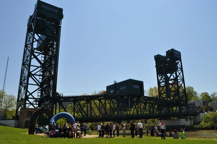 RiverSweep after-party at Hart Crane Park, 2017
