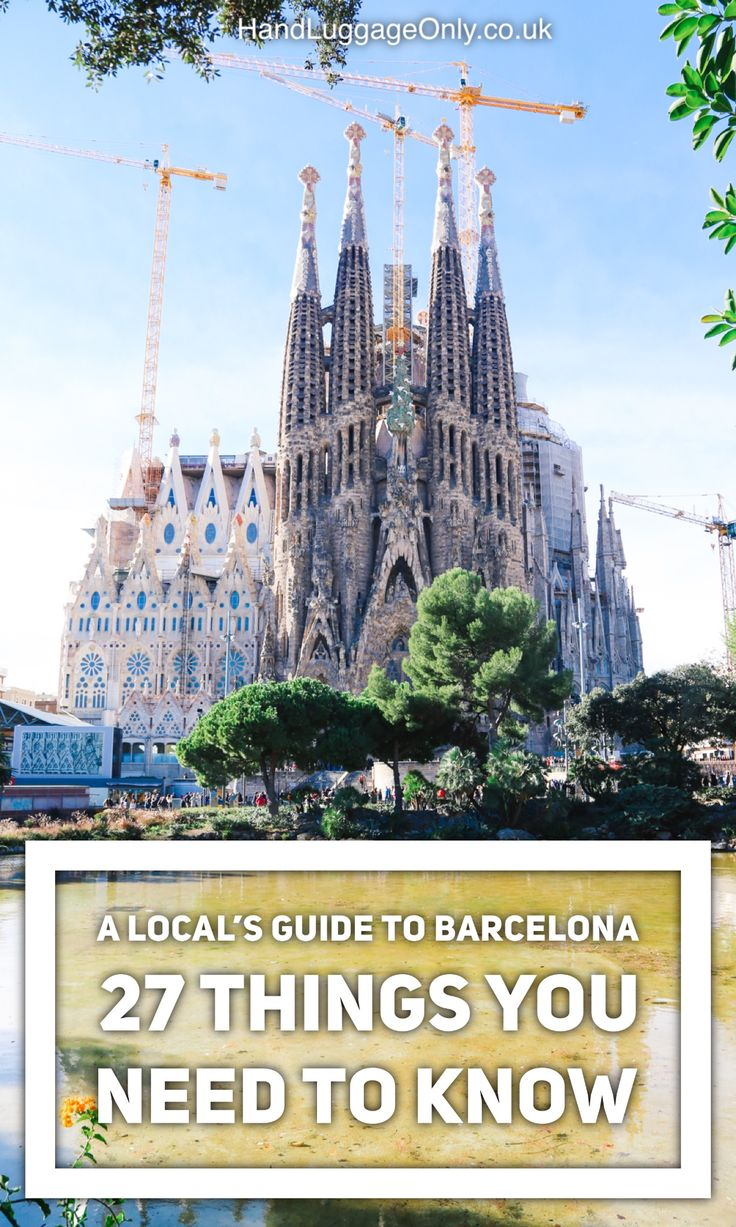 A Local's Guide To Barcelona: 27 Things You Really Need To Know About Visiting Barcelona - Hand Luggage Only - Travel, Food & Photography Blog