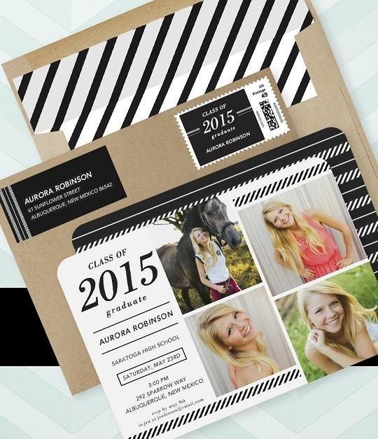 Find the graduation announcements that fit your style this 2015. | Tiny Prints