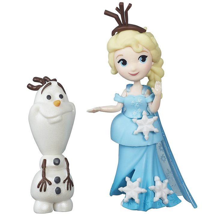 This is the Disney Frozen Little Kingdom Elsa And Olaf Mini Figures that are produced by the good folks over at Hasbro. The Olaf and Elf figures are miniatures and stand roughly 2.5 to 3 inches tall.