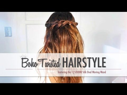 Boho Twisted Hairstyle - Sabrina Marie - #hairstyle #marie #sabrina #twisted - #HairstyleBohoGirls