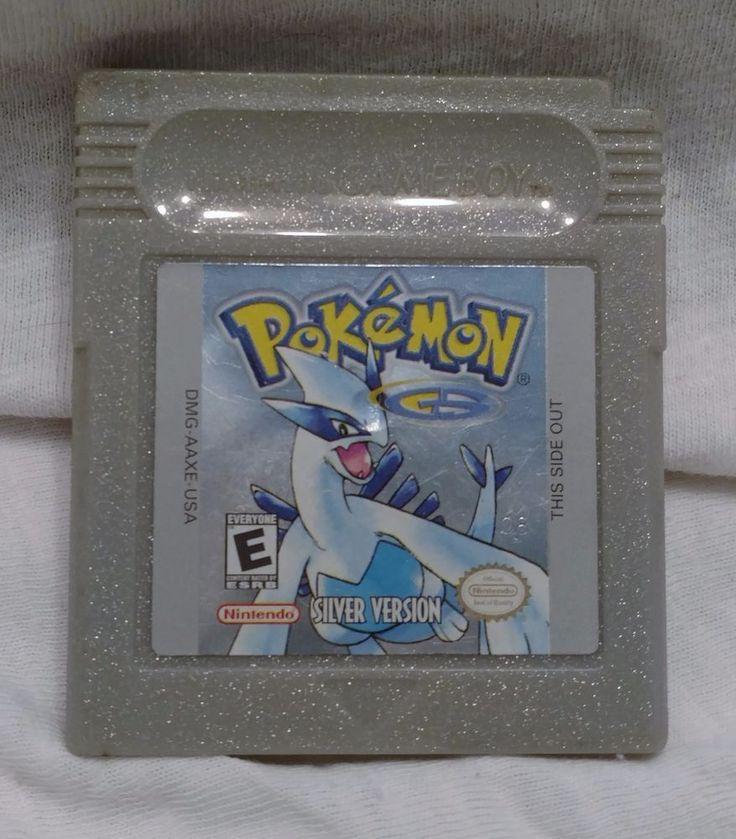 Pokemon Silver Version (Nintendo Game Boy 2000) #Nintendo
