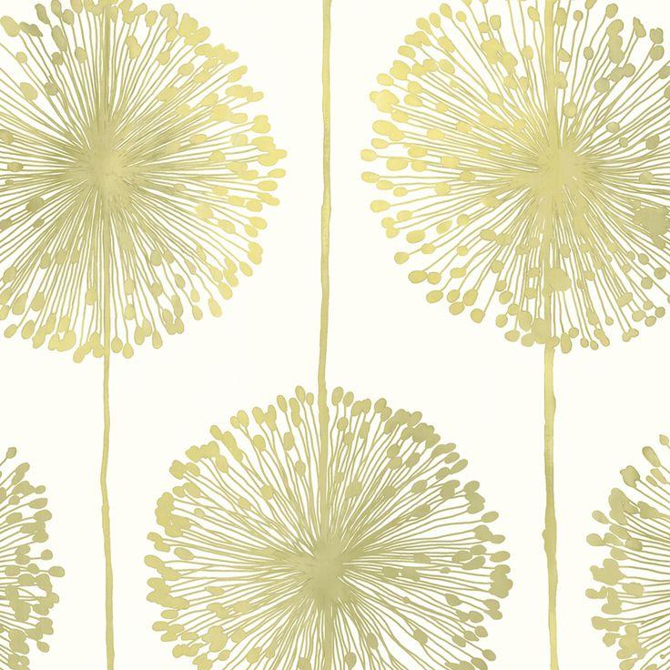 Floral Wallpaper Dandelion Muriva J042 - http://www.muriva.com/portfolios/floral-wallpaper-dandelion-muriva-j042-2/