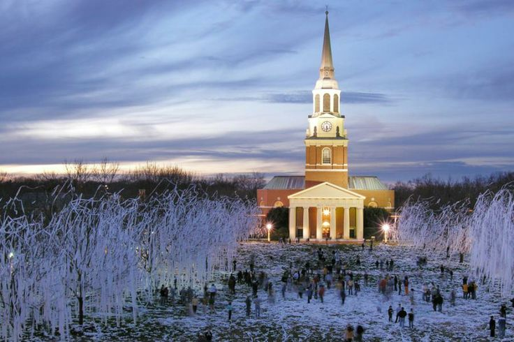Wake Forest University in Winston-Salem, NC! #wsnc