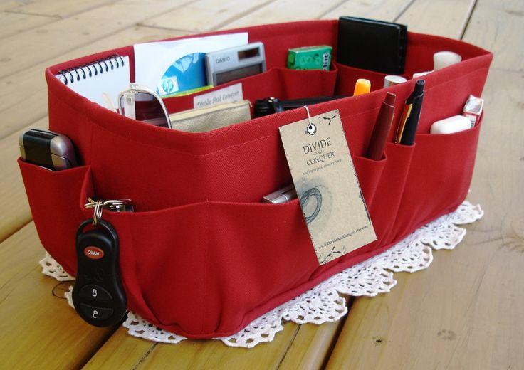 At what size does a bag organizer fail?