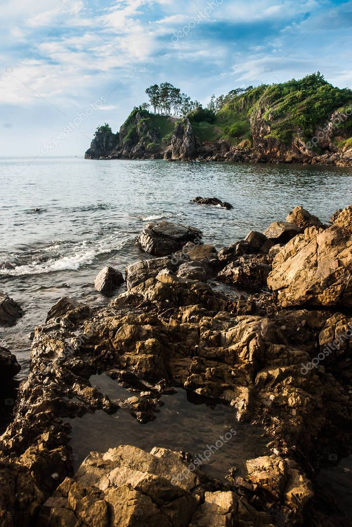 Rocky Beach Sea Water Erosion Stock Photo Sponsored Sea Beach Rocky Water Ad In 2020 Beach Pictures Beach Photos Water