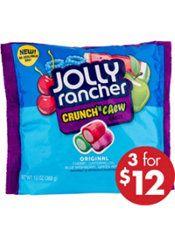 Jolly Rancher Crunch 'n Chew Candies 75ct | @giftryapp
