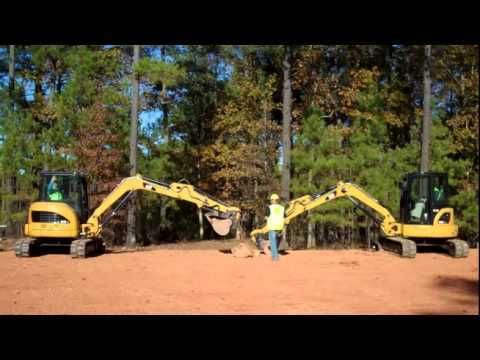 (adsbygoogle = window.adsbygoogle || []).push();           (adsbygoogle = window.adsbygoogle || []).push();  Watch this brief demonstration of the enhanced stability of the new Cat® D Series Mini Excavators versus the previous generation model.  More information on Cat Mini ...