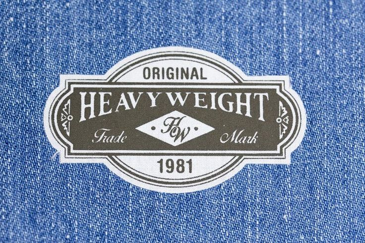 Heat transfer cotton label made in Italy by Panama Trimmings