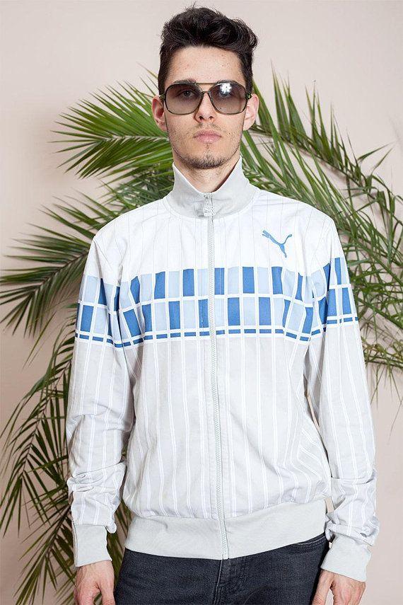 Vintage sportswear\u2022Vintage Hipster Puma jacket\u202290s Mens