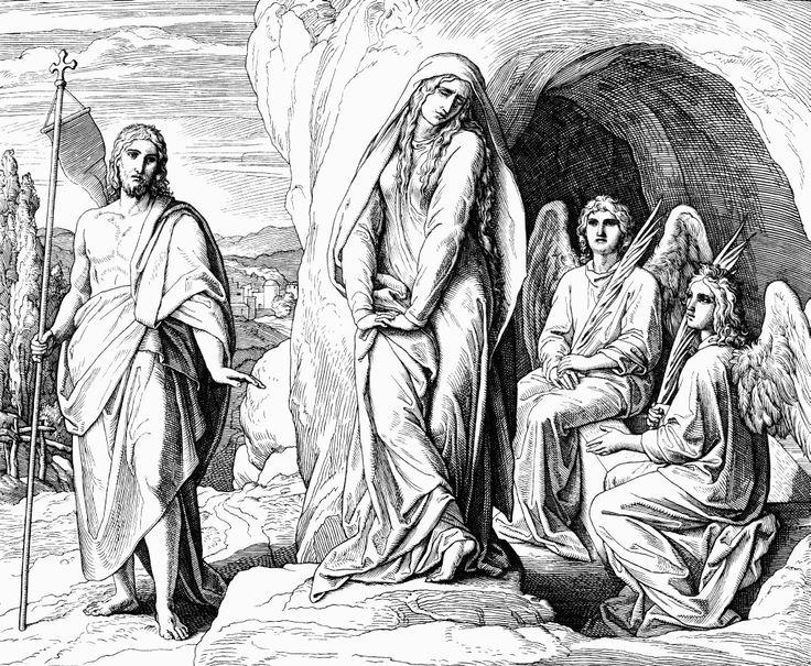 Мария Магдалина у гроба