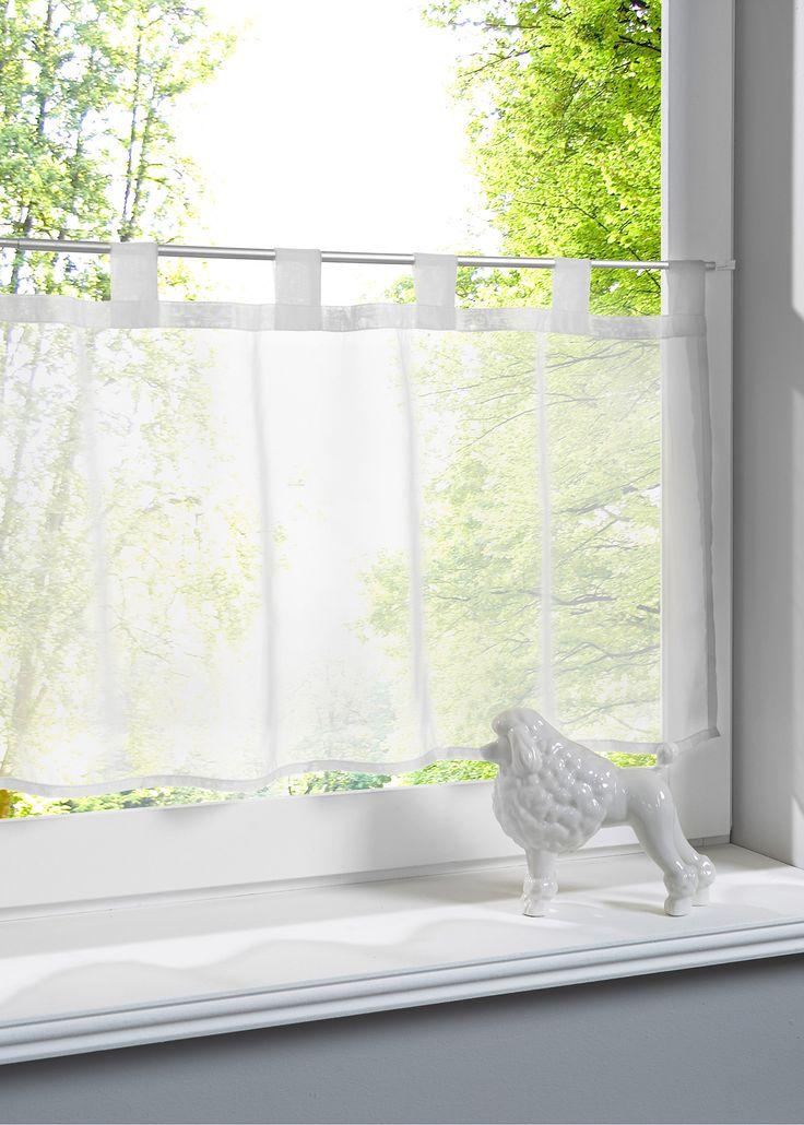 Bringt Farbe An Die Fenster Scheibengardine