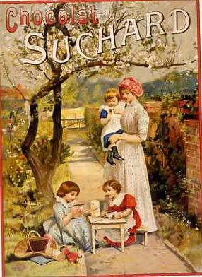 Alimentación. Chocolat Suchard. Francés @@@@......http://www.pinterest.com/marajosmuoz/publicidad-antigua/