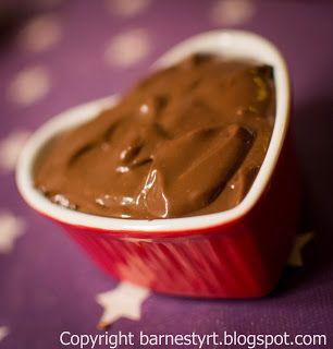 Barnestyrt spising: Oppskrift :: Farlig god sjokoladepudding ( uten melk )