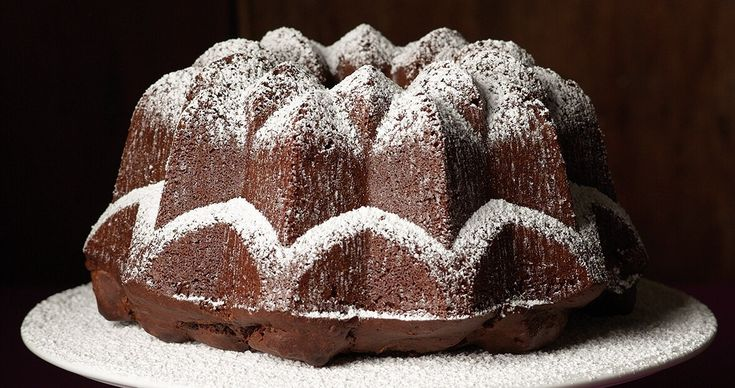 North Carolina's famed Krispy Kreme doughnuts make their way into a delicious doughnut cake.