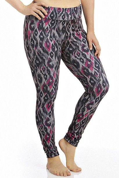 Step up and step out in this adorable reversible street style leggings. Day or night these versatile patterned plus size athletic pants are stylish and comfortable.