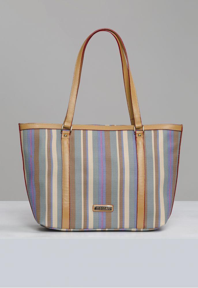 Kolorowa torba w paski