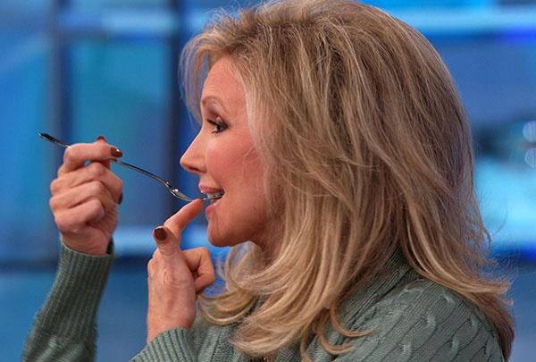 Morgan Fairchild's long-lasting lipstick secrets