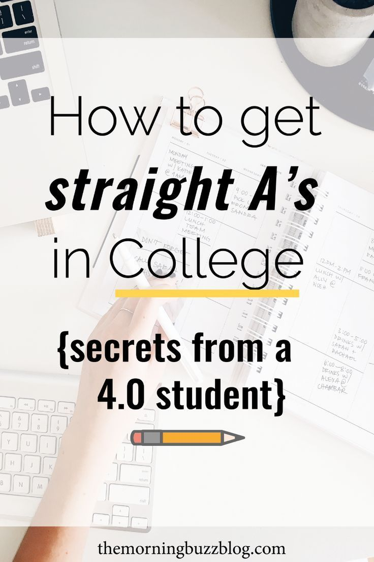 How I Got Straight A's In College (And How You…