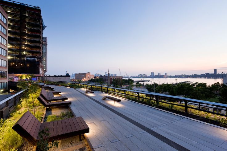 Take a Walk on the High Line with Iwan Baan,Sundeck Water Feature and Preserve…