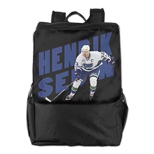 Show Time Henrik Sedin Multipurpose Backpack Travel Bags Shoulder Bag ** Want additional info? Click on the image. (This is an affiliate link) #TravelCasualDaypackBackpacks