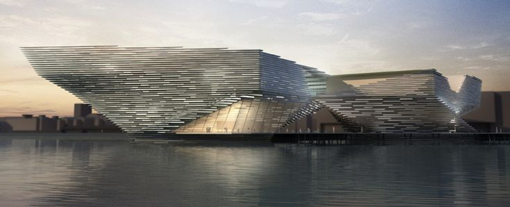 kengo kuma: V at dundee shortlisted design