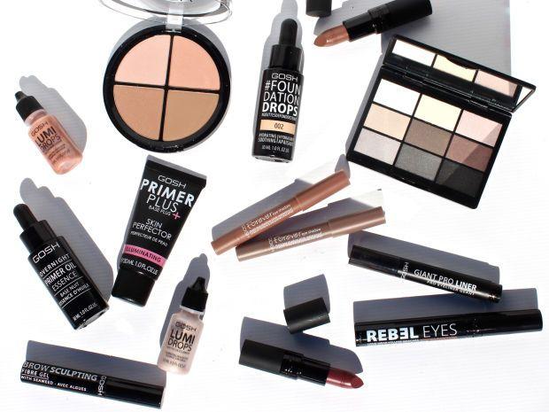 GOSH Cosmetics New Products & Matte Smokey Look - Perilously Pale