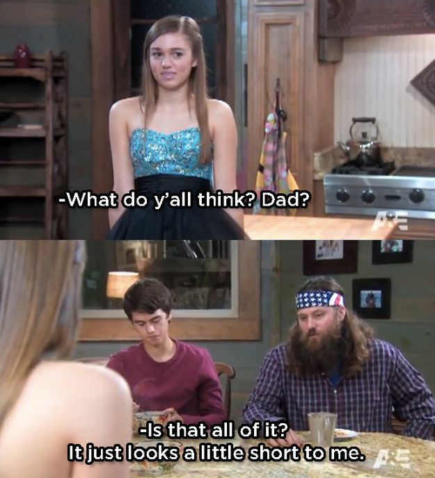"The more fabric the better! | 20 Things You'll Only Understand If You Watch ""Duck Dynasty"""