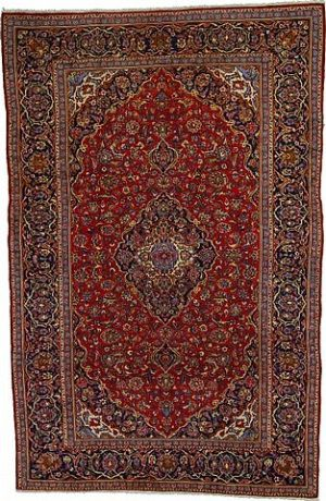 8' 5 x 12' 11 Kashan Rug  on  Daily Rug Deals