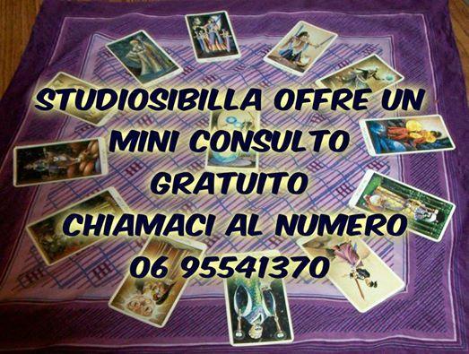 Consulto gratuito visita il nostro centro www.cartomantistudiosibilla.it