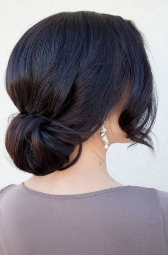 hair buns styles long hair 17 best ideas about side bun hairstyles on 7588 | cabe62fd225b81af8a07092c0b35bbc8