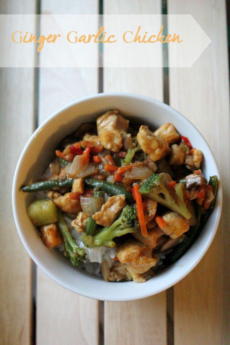 #Recipe: Ginger Garlic Chicken from Jaime Loves Stuff