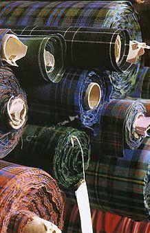 Tartan Fabric : The Scottish Trading Company, Fine Quality Scottish Goods