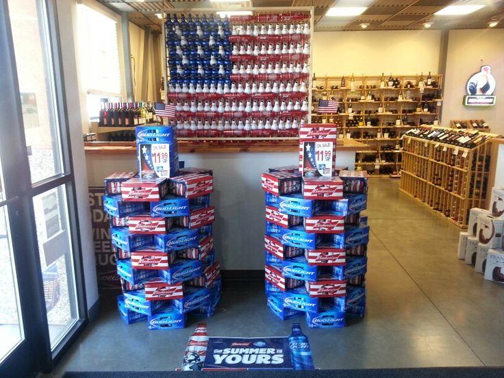 Twin Towers Budweiser Displays Pinterest