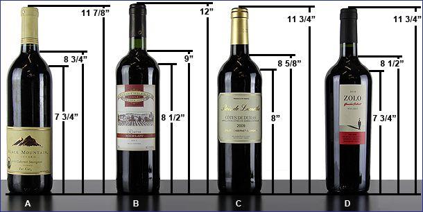 Standard wine bottle size Google Search Wine bottle