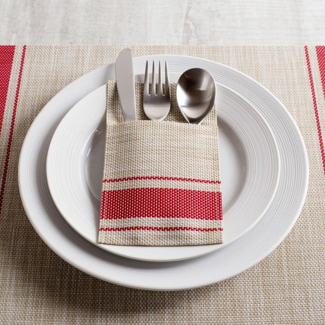 Upgrade your table setting with a set of Harman cutlery holders.