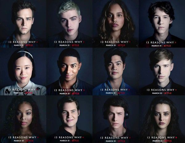 13 Reasons Why cast was good. They did justice to their characters