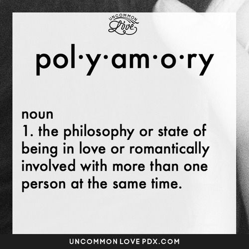 Poly dating definition