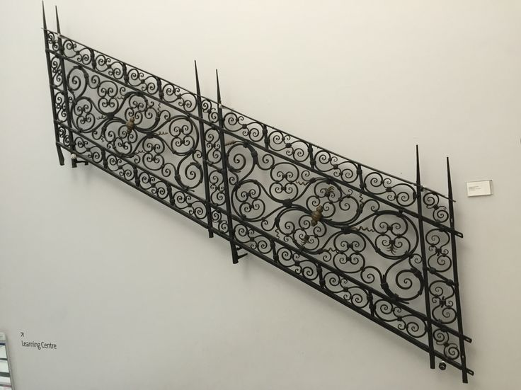 Staircase railing from the 1600's